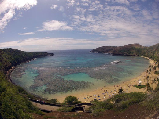 Hanauma Bay Oahu Hawaii Snorkel Tours