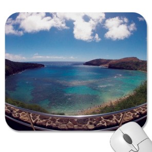 Hawaii Mouse Pads and Souvenirs